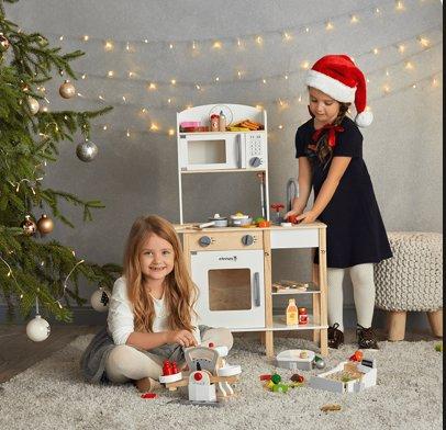 Duza Drewniana Kuchnia Elefun Toys 7125432743 Oficjalne Archiwum