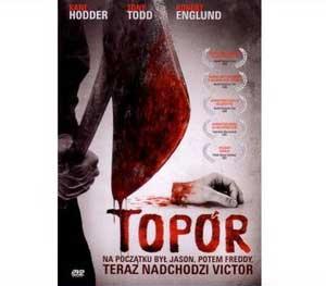 Topór DVD   Horror              ZERO RYS!!