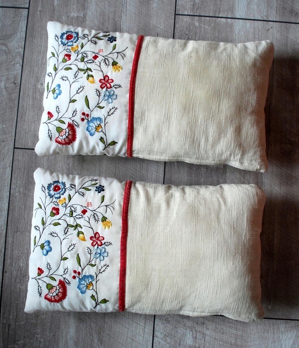 Poduszki Dekoracyjne Ikea Haft Folk Komplet 2szt