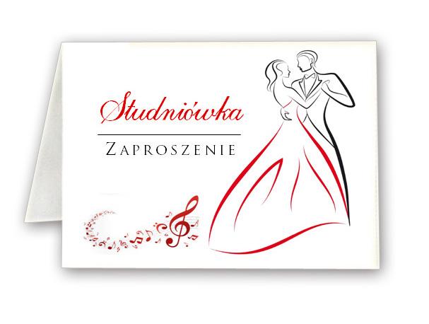 Zaproszenia Studniówka Studniówkowe Bal Studniówkę 7033235577
