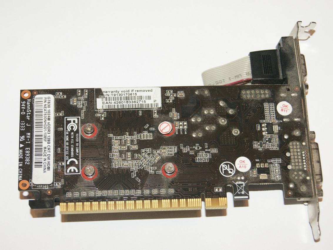 Karta Graficzna Nvidia Gt 630 1gb 128bit Dvi Hdmi 7331796349 Msi Geforce Ddr3