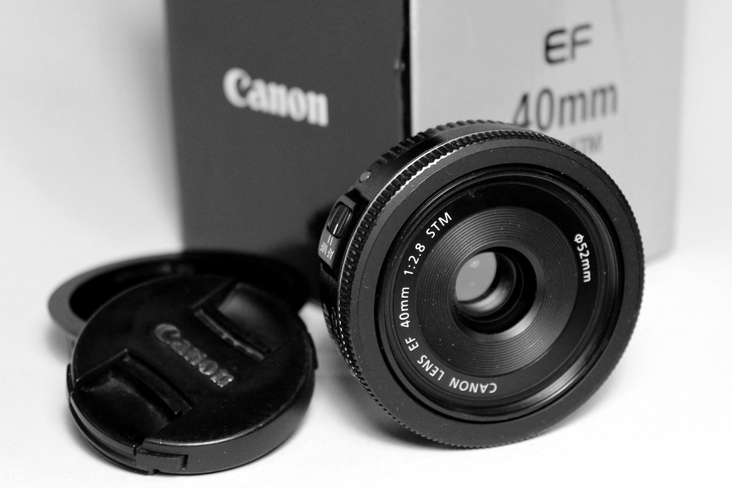 OBIEKTYW CANON 40mm f/2.8 EF STM PANCAKE