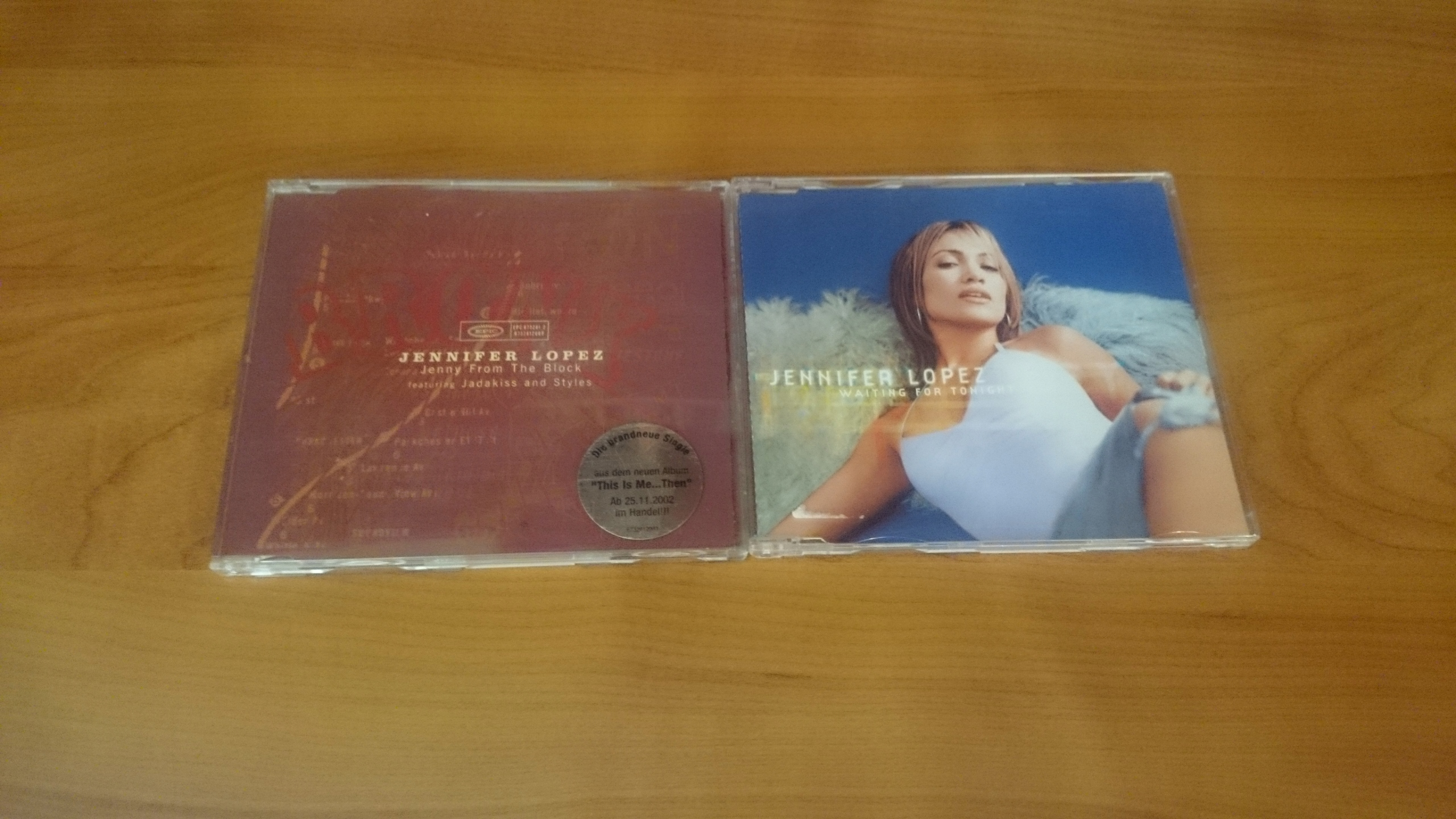 [2CD] 2 SINGLE JENNIFER LOPEZ WAITING FOR TONIGHT