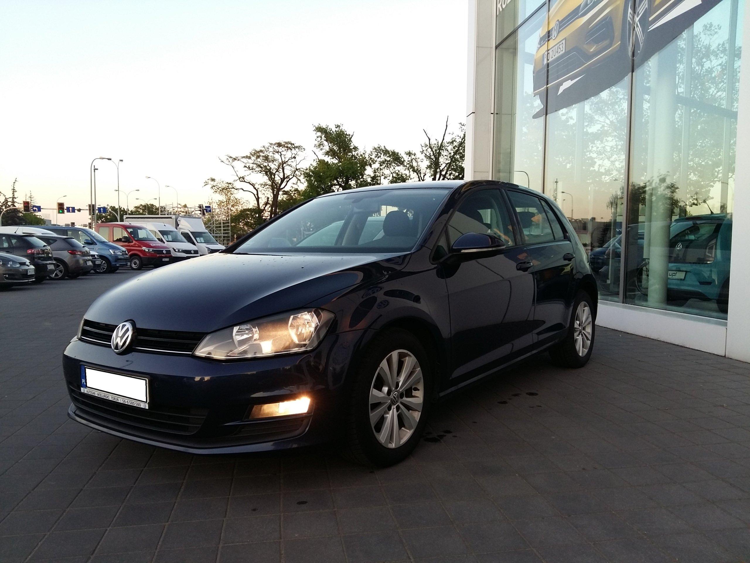 VW GOLF VII 1.6TDI 2014r.*SALON POLSKA*FAKTURA VAT
