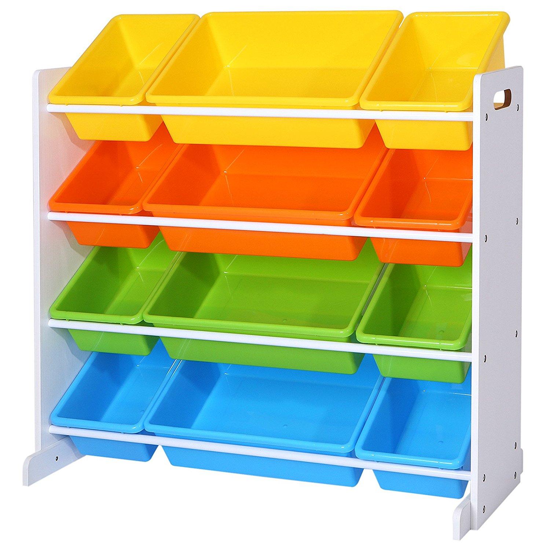 93b4 Kolorowy Regał Półka Na Zabawki Dla Dzieci