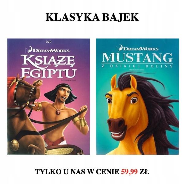 Mustang Z Dzikiej Doliny/Książę Egiptu [DVD Pakiet