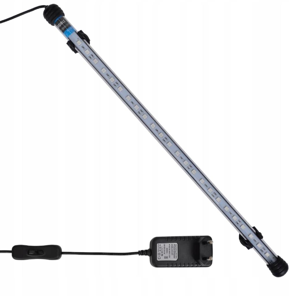 41215 vidaXL Niebieska lampa LED do akwarium 48 cm