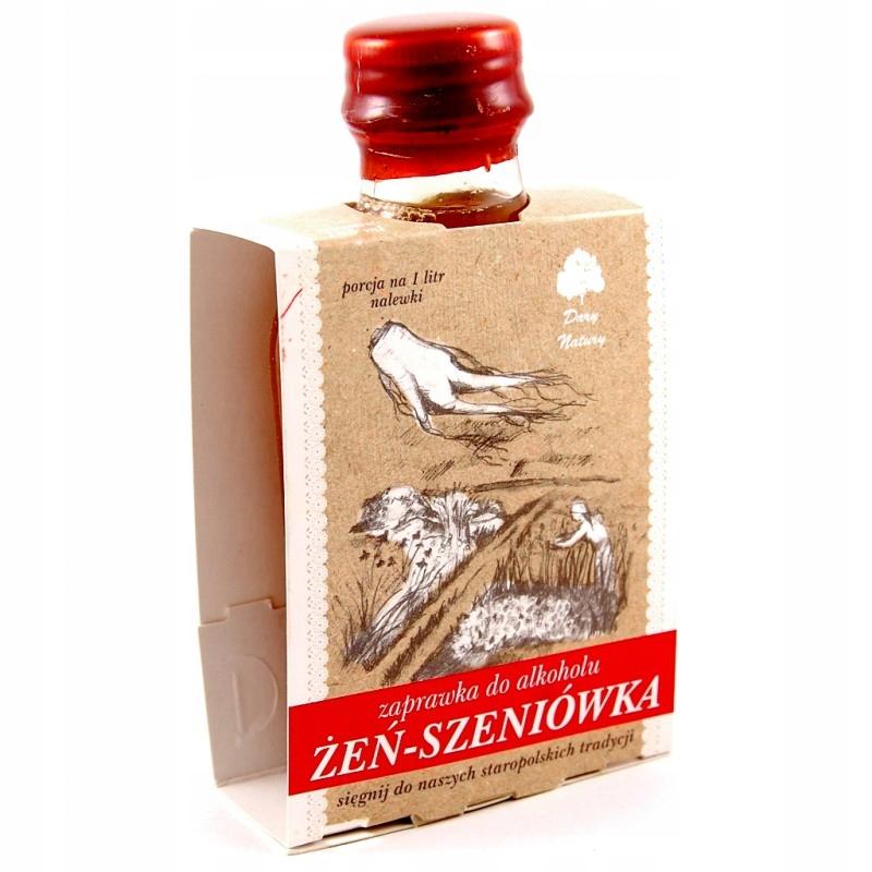 Żeńszeniówka - zaprawka do alkoholu 100 ml