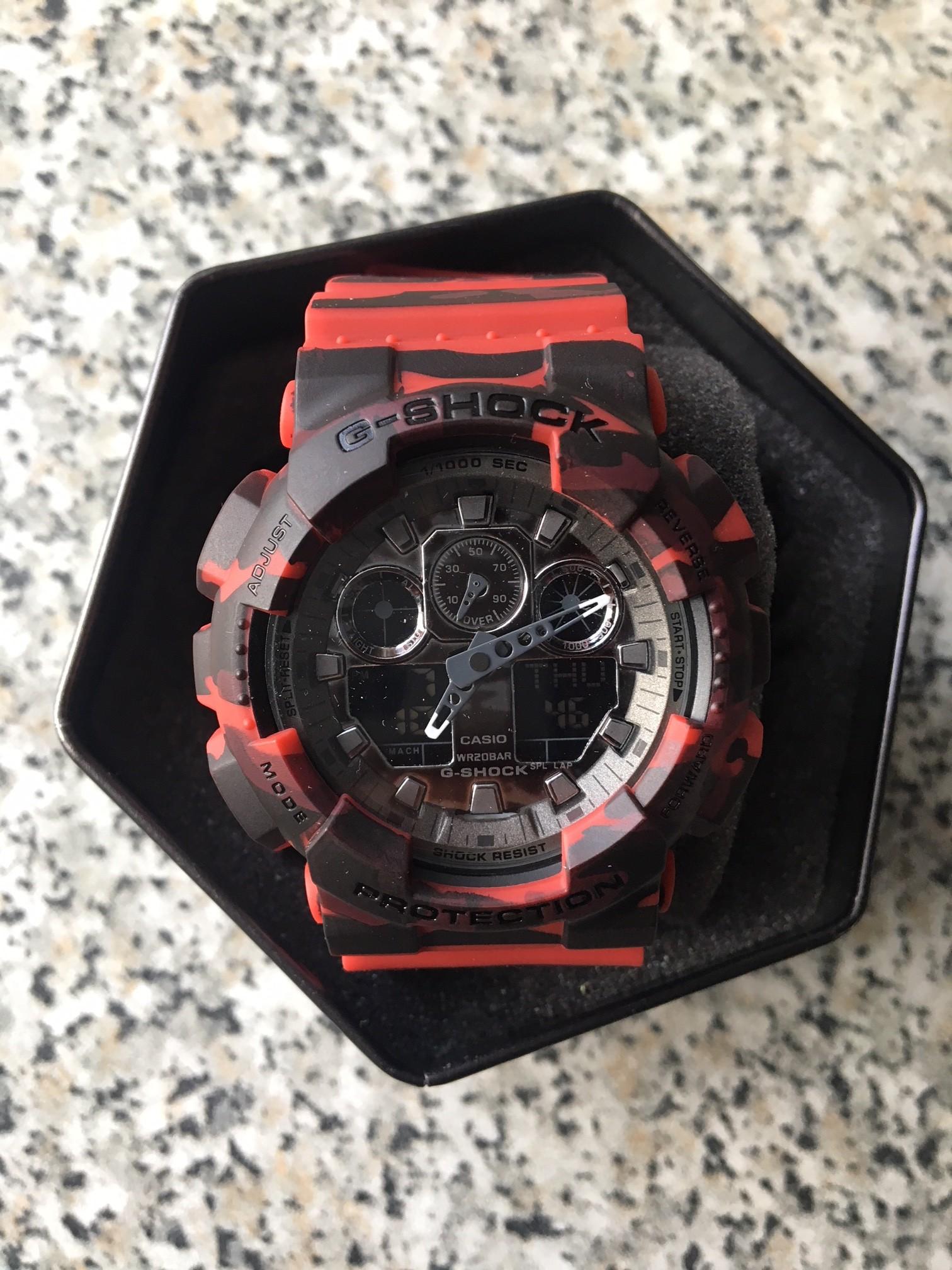 Casio G Shock Ga 100cm 4a 110 100 7410451080 100b 4adr