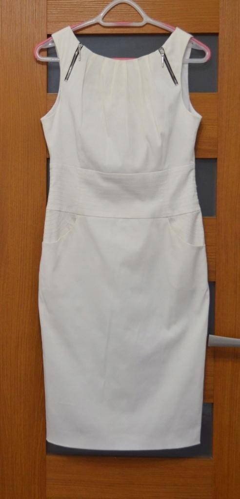 5c1334b181 Sukienka SIMPLE rozm M 38 biała cudowna !! - 7459710939 - oficjalne ...