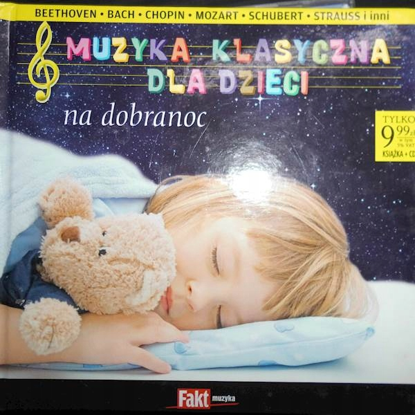 Muzyka Klasyczna Dla Dzieci Na Dobranoc Cd 7442987788