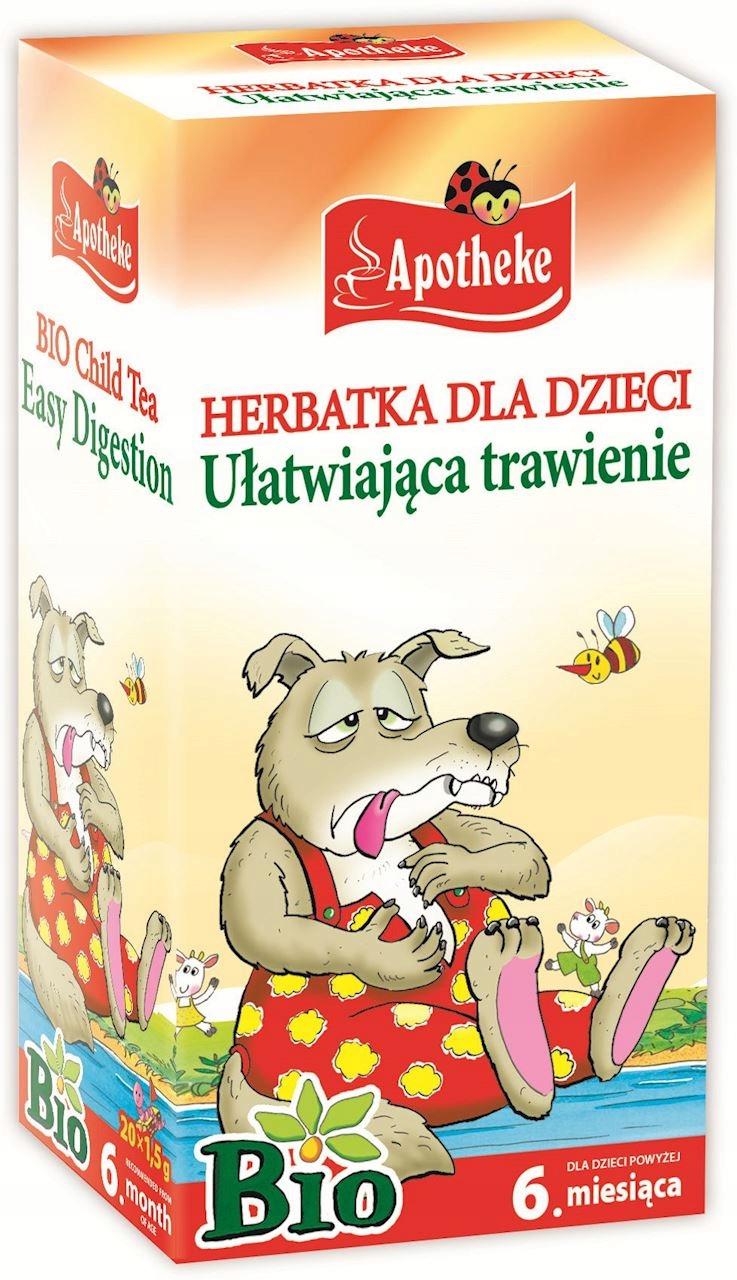 Apotheke Herbatka Dla Dzieci Trawienie 20 x 15g