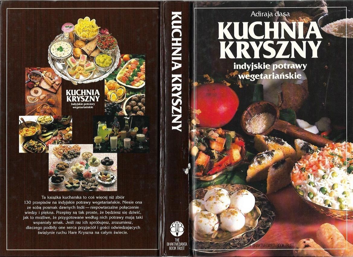 Kuchnia Kryszny Indyjskie Potrawy Wegetariańskie