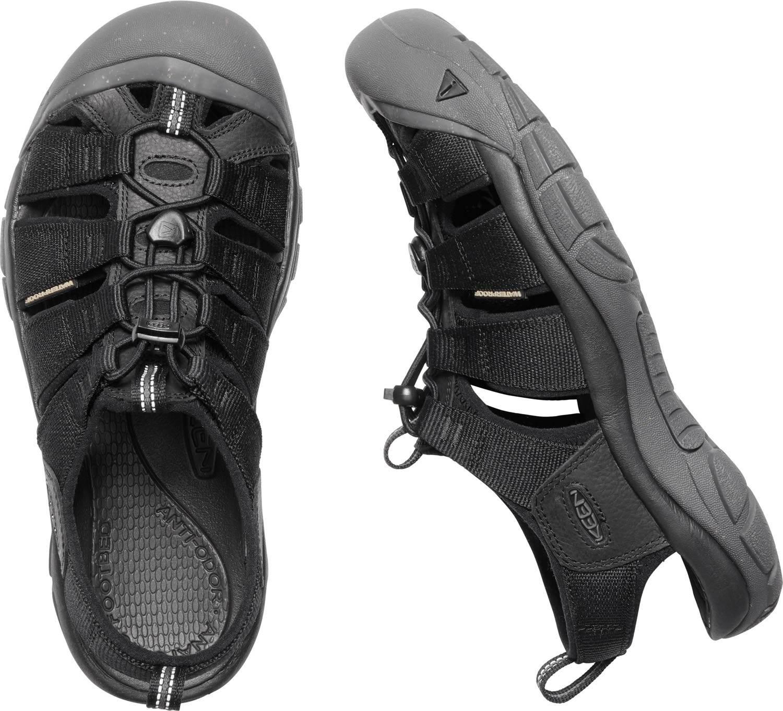 c89b821a Sandały męskie KEEN Newport ECO black/magn # 44,5 - 7343571946 ...