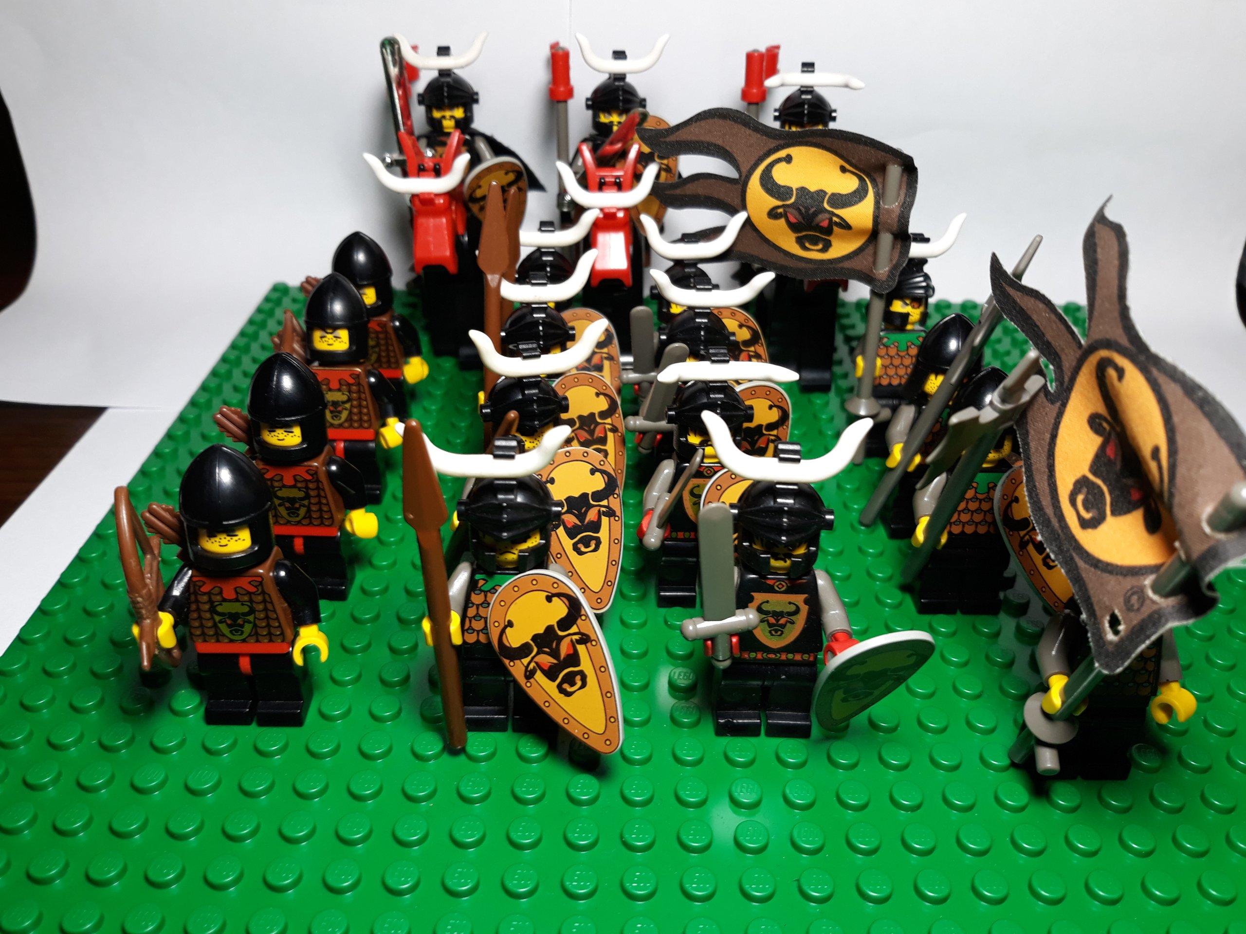 Lego Castle Zamek Rycerze Armia Knights Kingdom 7133596286