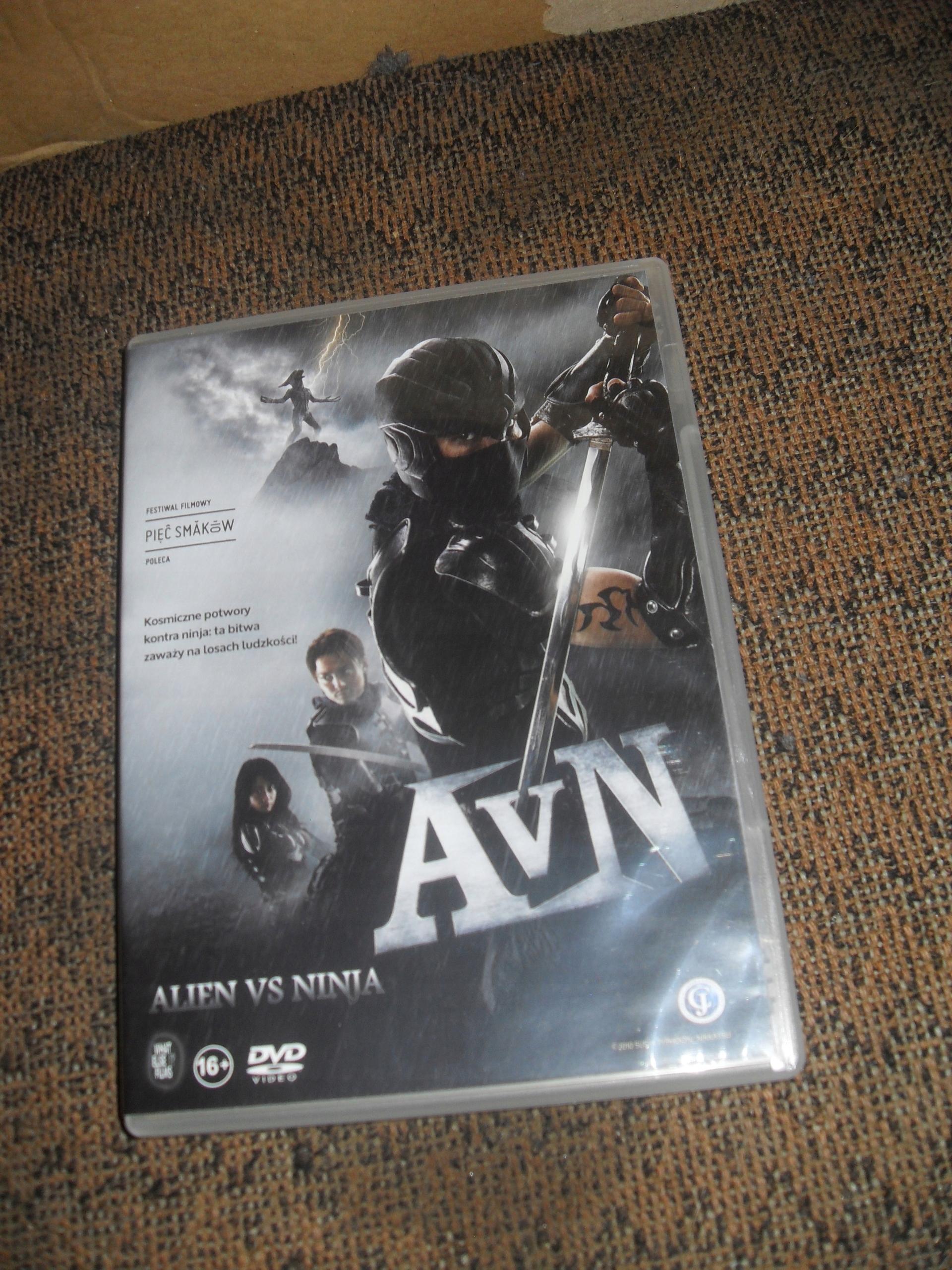 Alien vs Ninja DVD