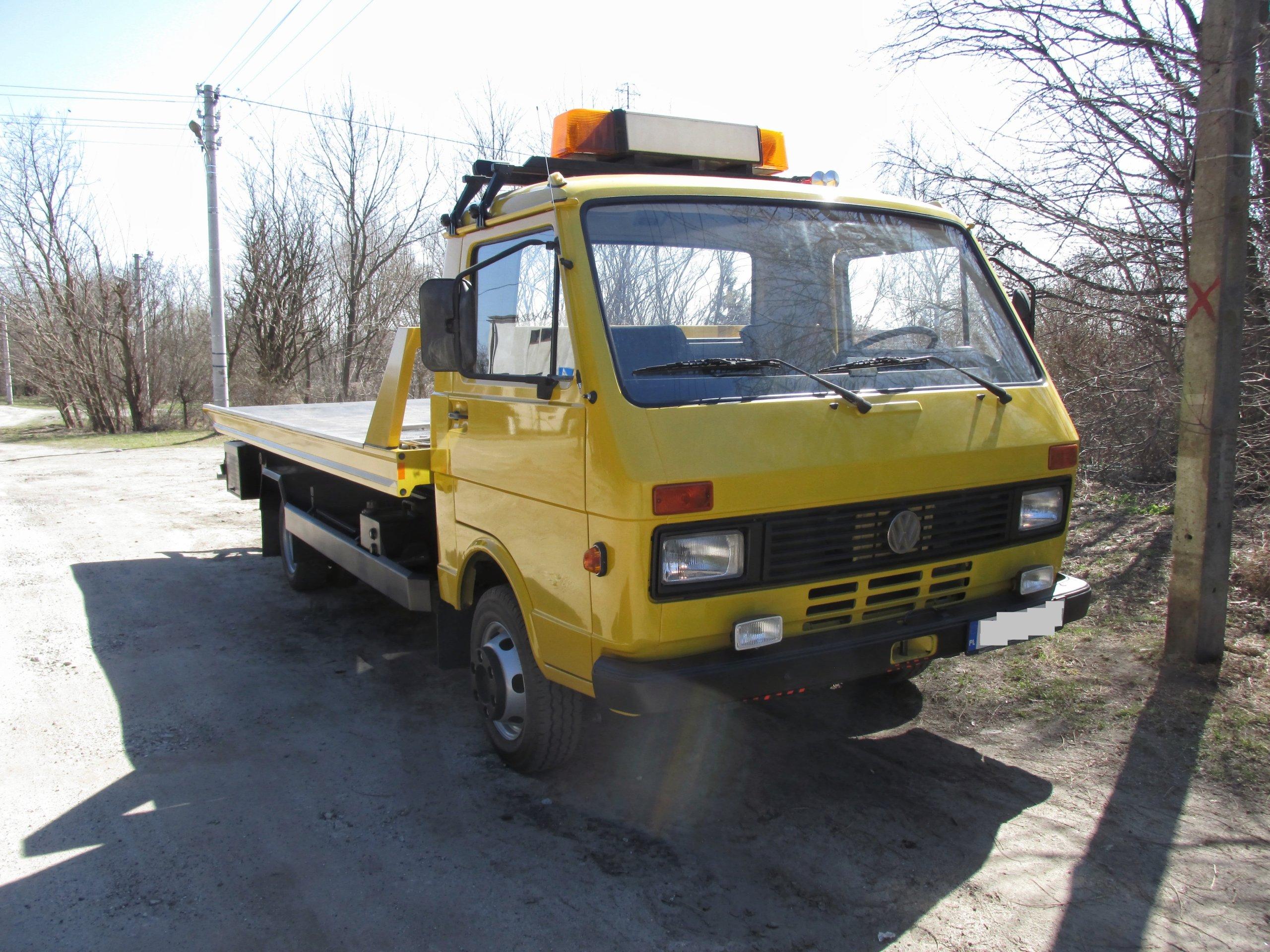 Nietypowy Okaz VOLKSWAGEN VW LT 55 POMOC DROGOWA pojazd specjalny - 7320587392 IK11