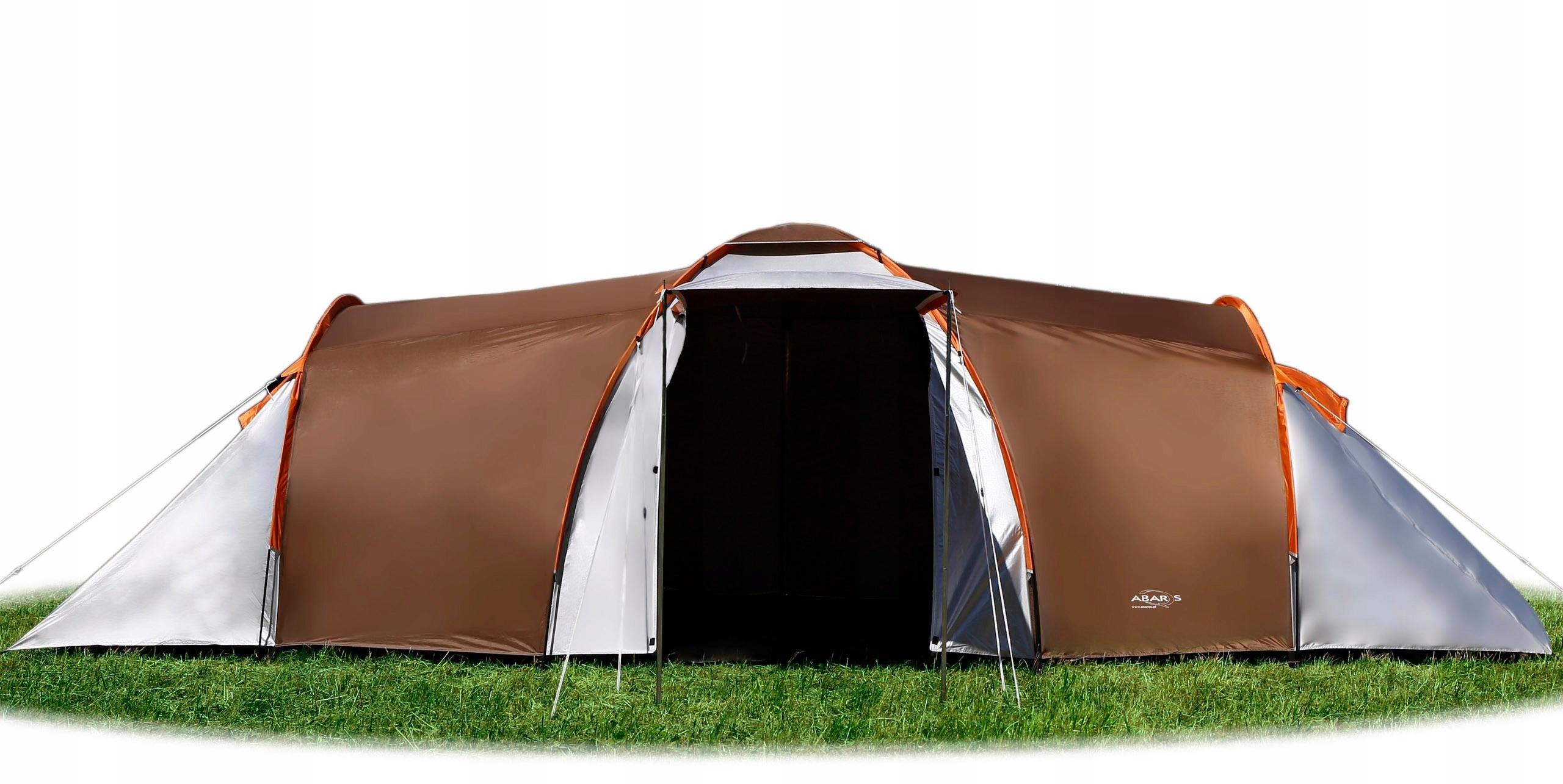 Zupełnie nowe Namiot Turystyczny 6 Osobowy 2 Sypialnie 3000 MM - 6821557655 YQ78