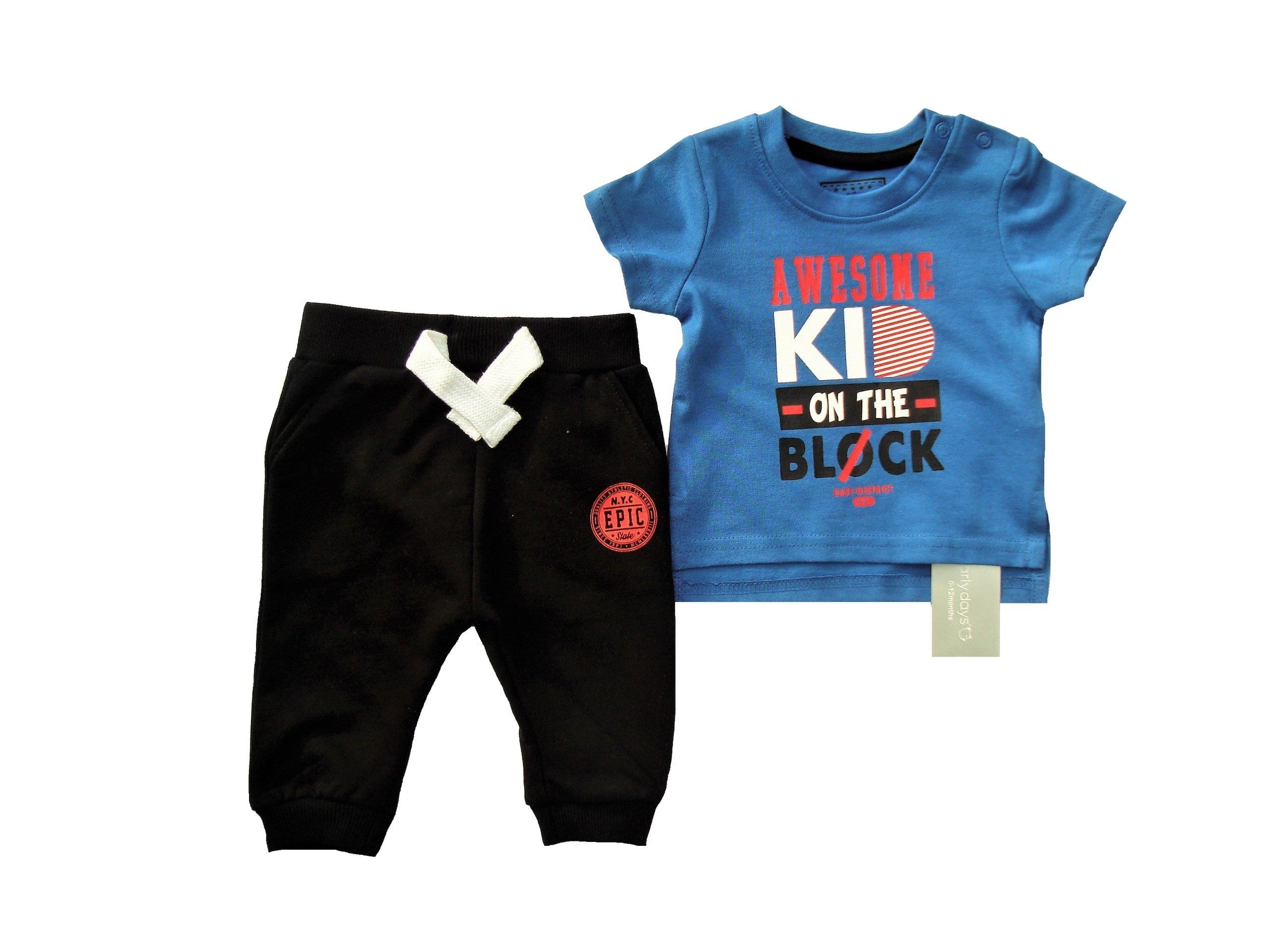 bluzka i spodnie kpl Early Days 3 - 6 m-cy 68 cm