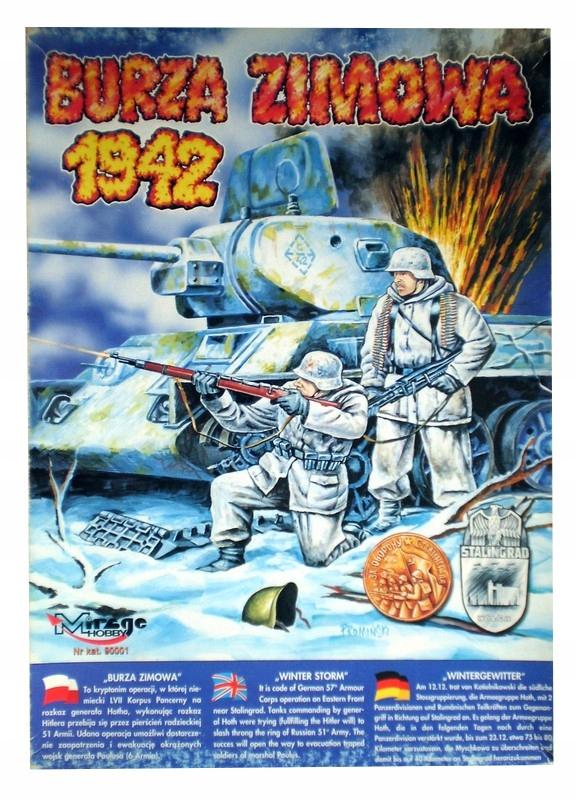 Gra planszowa wojenna BURZA ZIMOWA 1942 mirage hob
