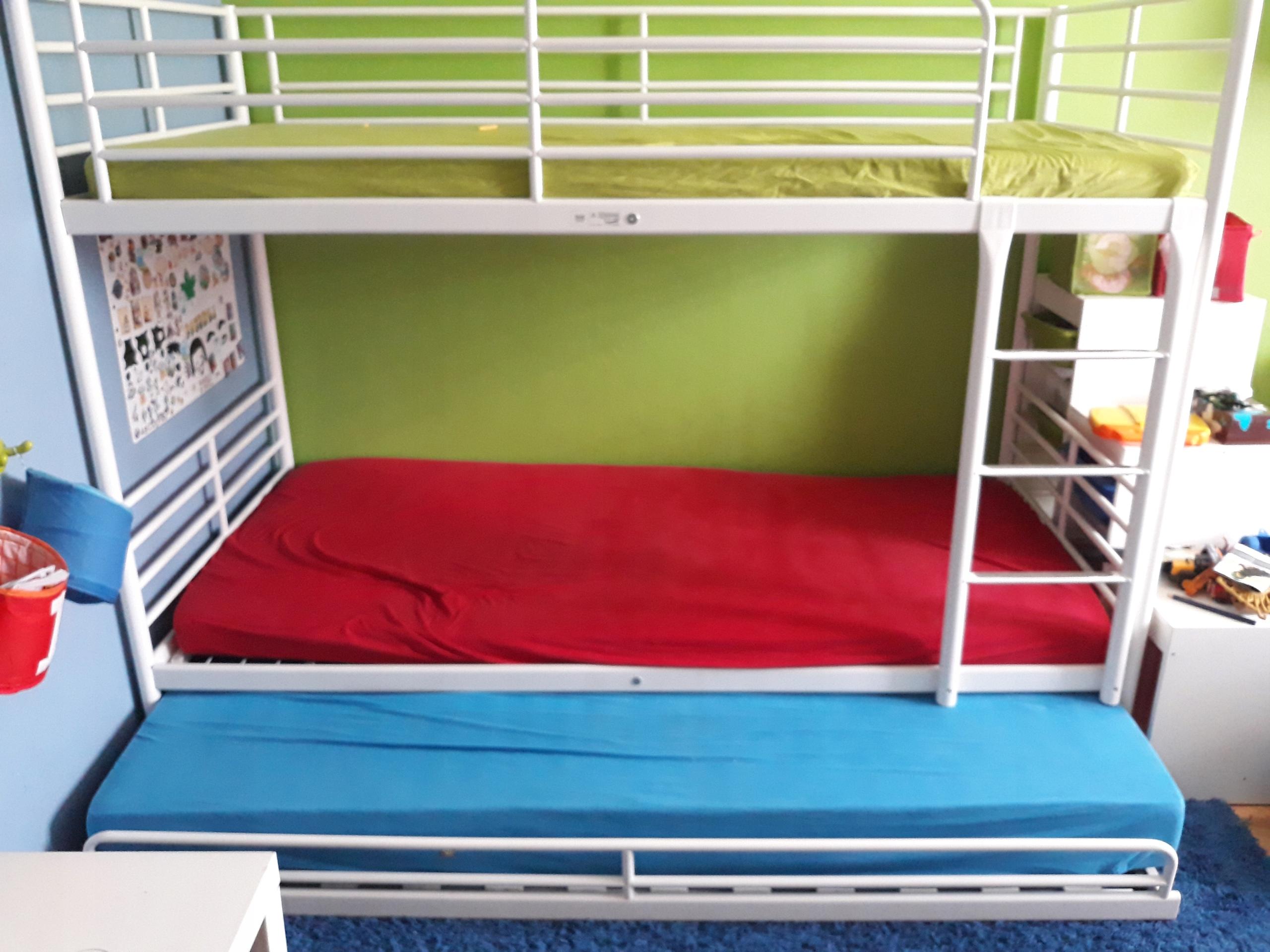 łóżko Piętrowe Ikea Tanio 7454376298 Oficjalne
