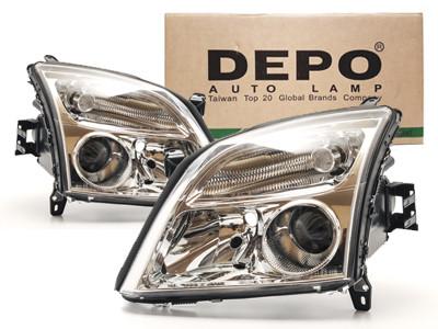 Depo Reflektory Lampy Przód Opel Vectra C Xenon 7052143248