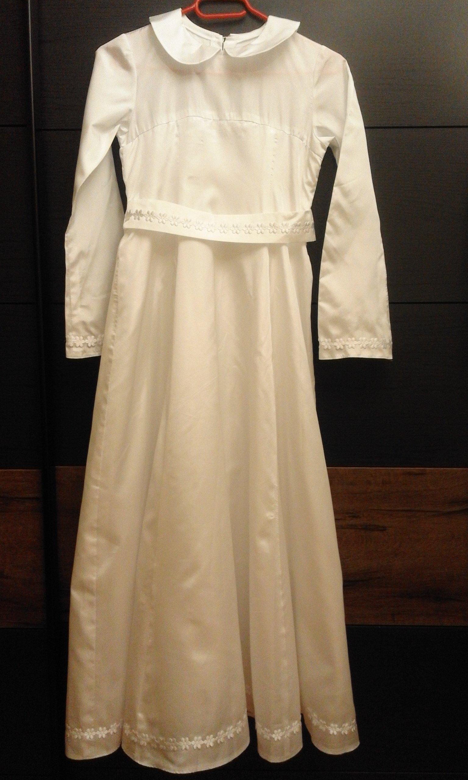 23f1abe4b2 sukienka biała rozmiar ok.140cm - 7280557146 - oficjalne archiwum allegro