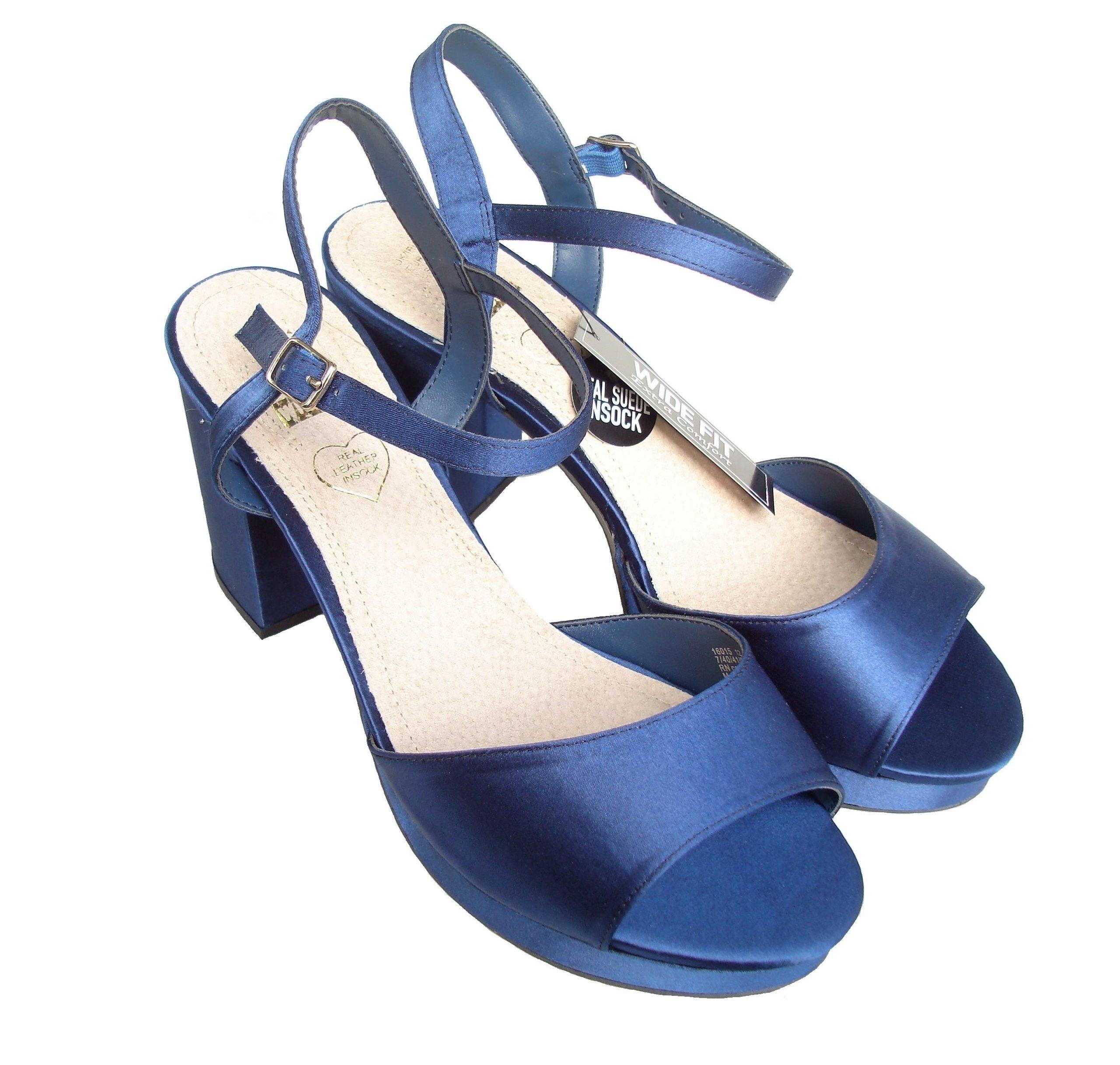 szerokie sandały 39,5 - 40 na obcasie Atmosphere