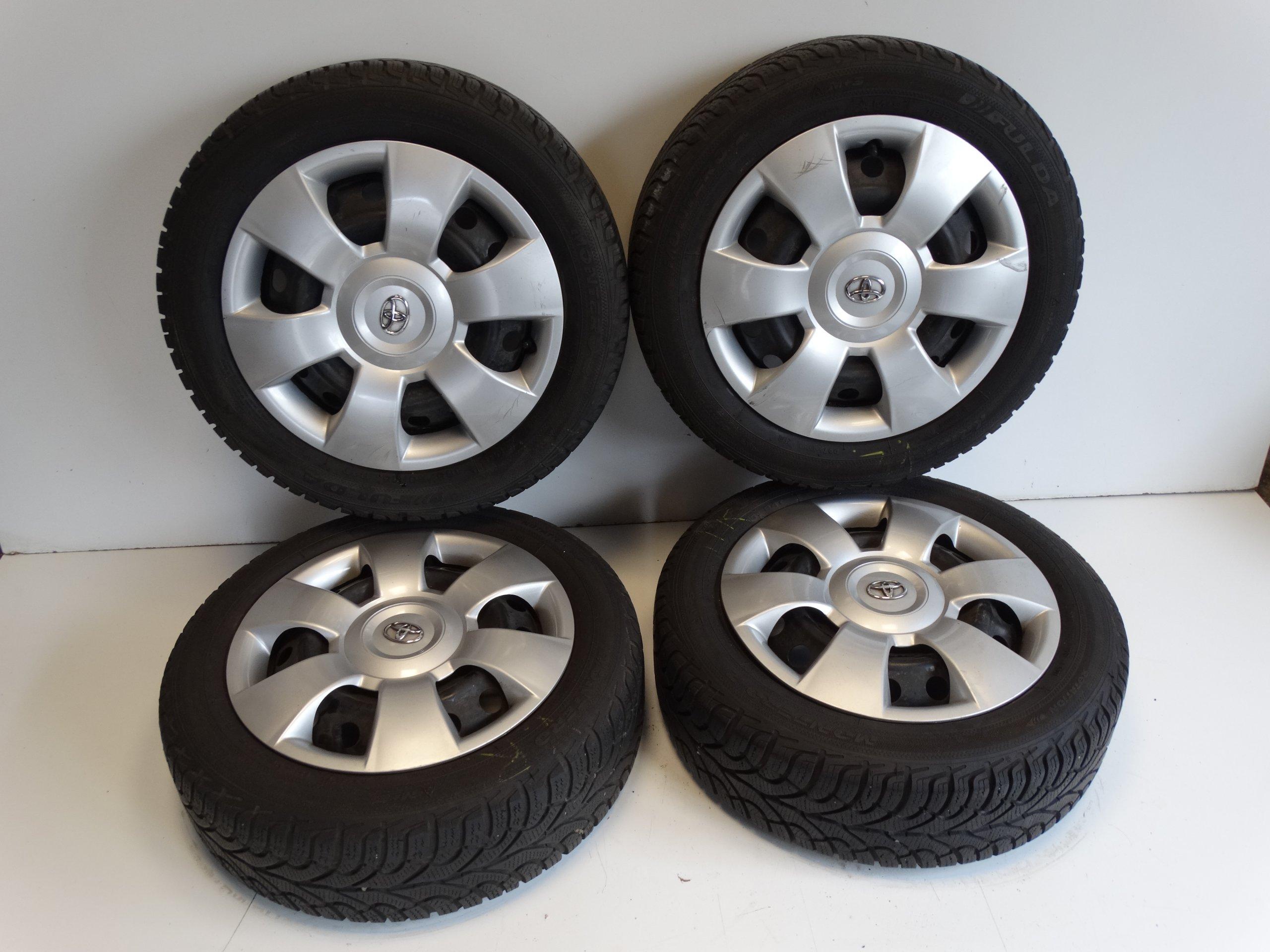 Toyota Yaris Koła Opony Zimowe 18560r15 63mm 6983064433