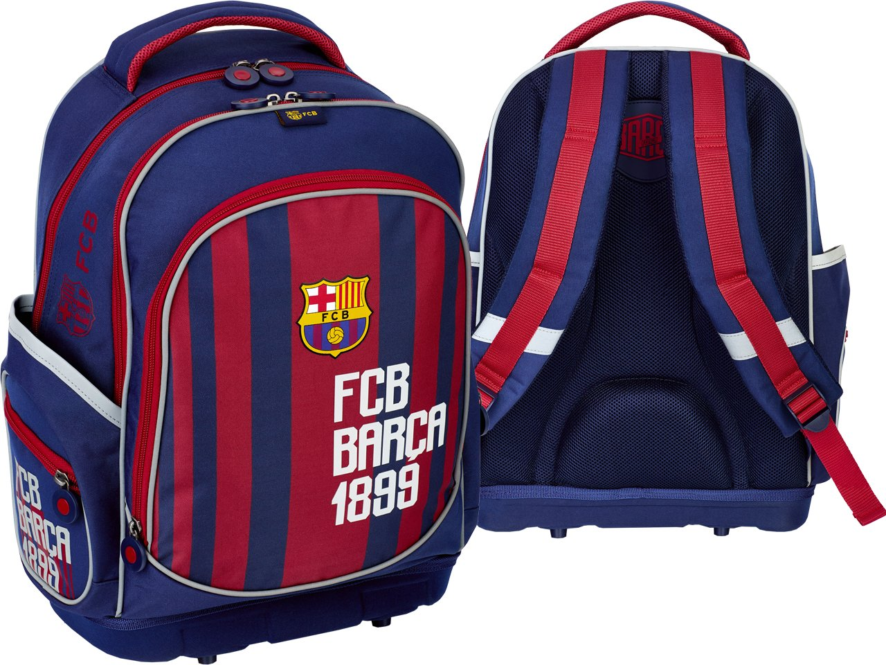 55cbffc3f0c19 FC BARCELONA Plecak Szkolny FC-181 tornister Barca - 7448161389 ...
