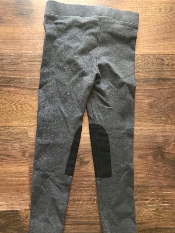 58fbec7e8878 H M logg 104 spodnie bryczesy legginsy szare - 7528886617 ...