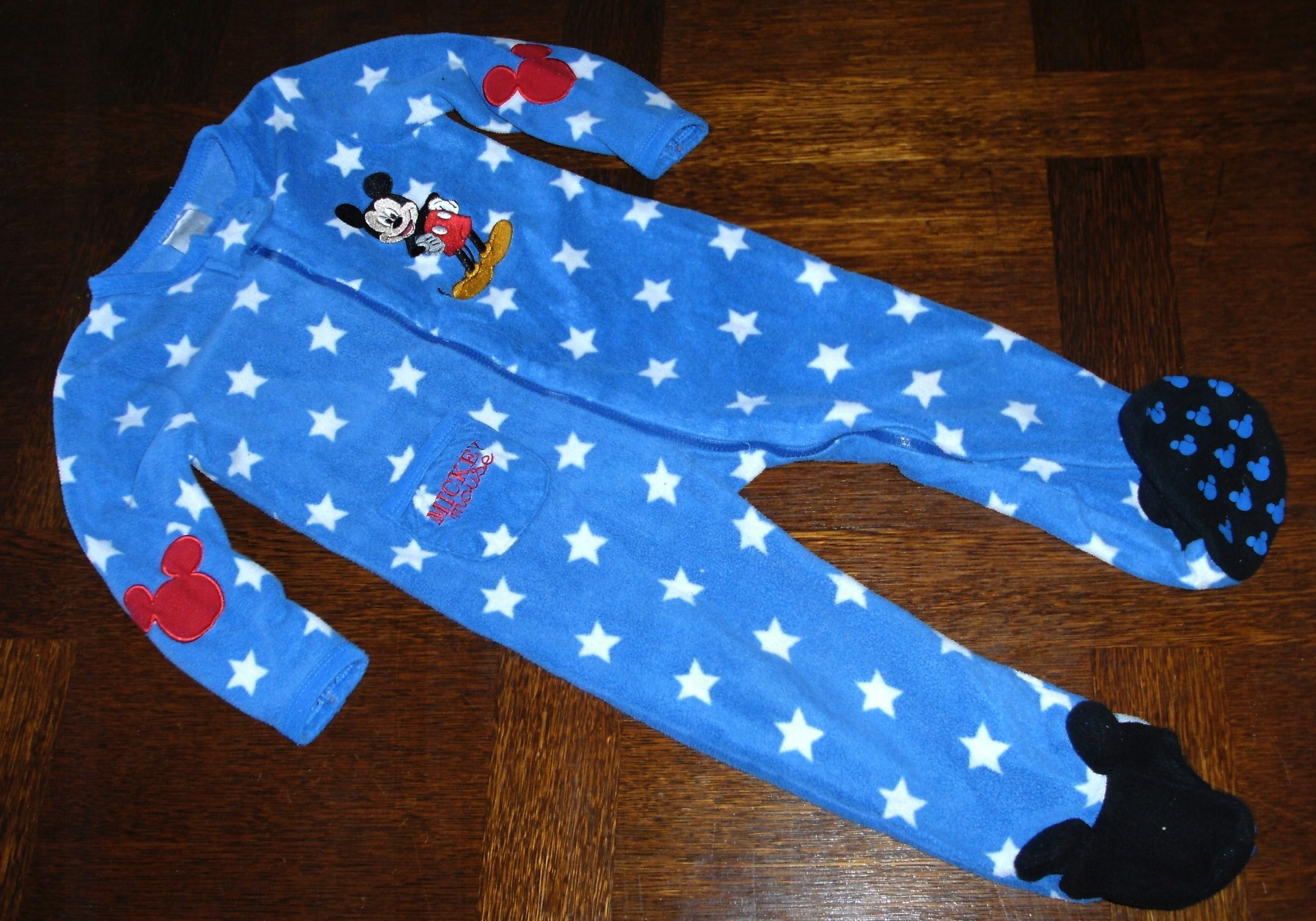 d749b4d3b21f68 Piżama jednoczęściowa Disney Myszka MIKI 92 - 7579090895 - oficjalne ...