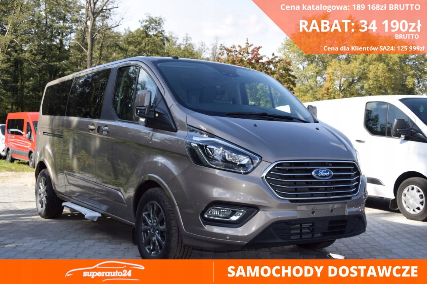 Ford Tourneo Custom Titanium L1 170KM