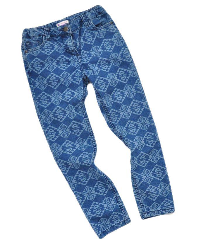 JOHN LEWIS*Wystrzałowej jeansowe spodenki*128