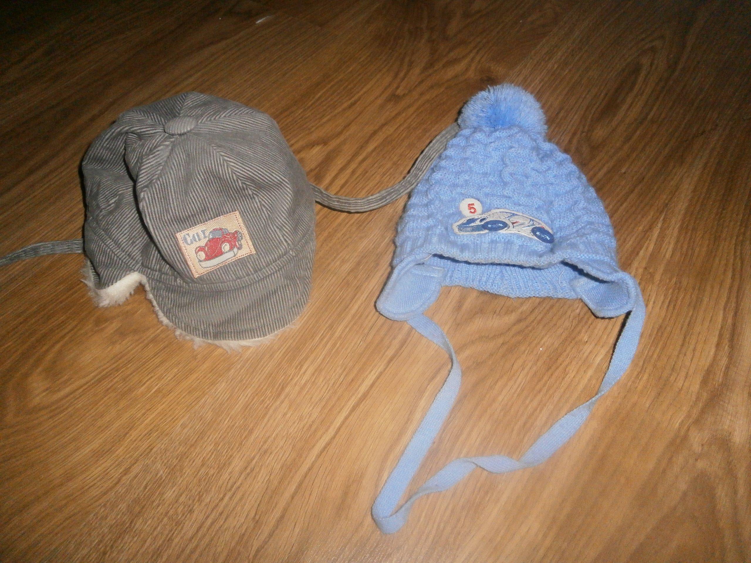 1aec40607e Czapki zimowe dla niemowlaka roz.46-48 - 7011101475 - oficjalne ...