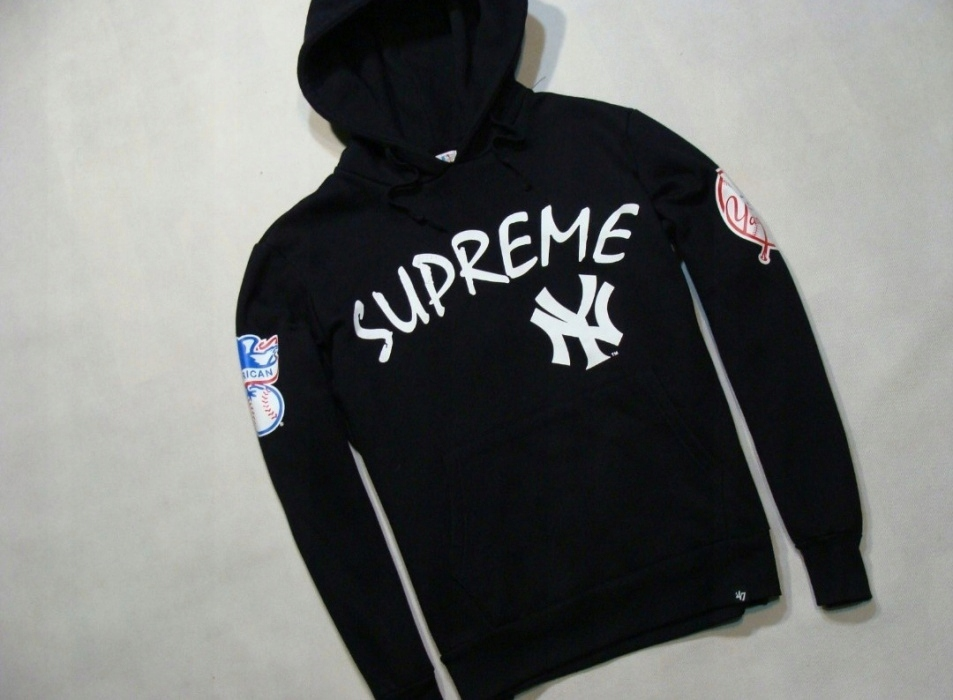 the best attitude ff7ba e8d06 Hoodie Supreme x New York Yankees
