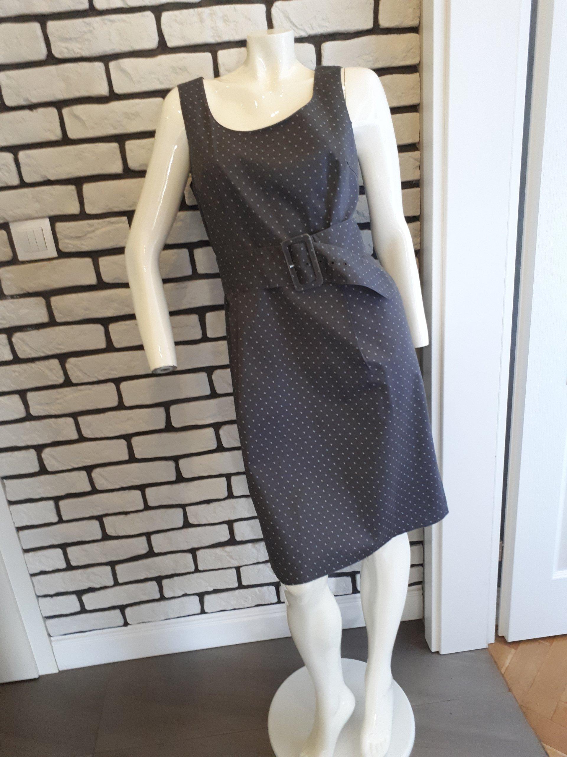 c1412de752 H M - szara sukienka rozmiar 42 - 7326691125 - oficjalne archiwum ...