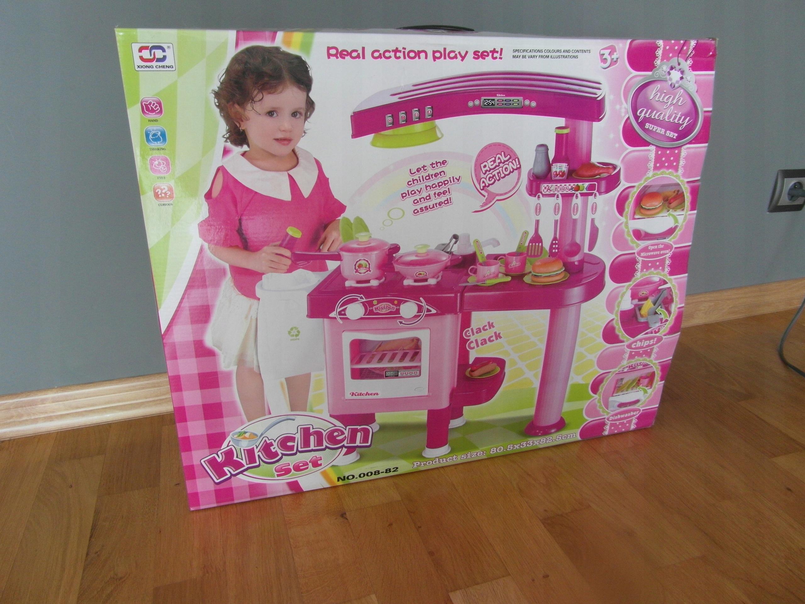 Kitchen Set Beauty Zestaw Kuchenny No 008 82 7566689459