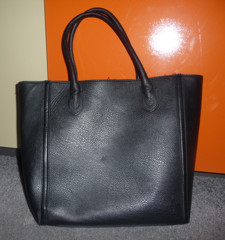 086f64a8a21c1 H M czarna duża torba shopper torebka - 7305937200 - oficjalne ...