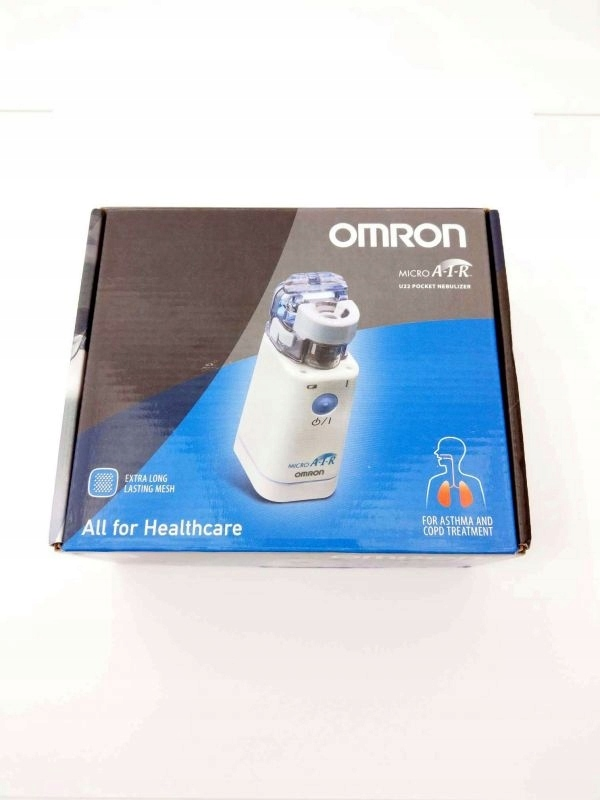 INHALATOR NEBULIZER OMRON MICRO AIR U22