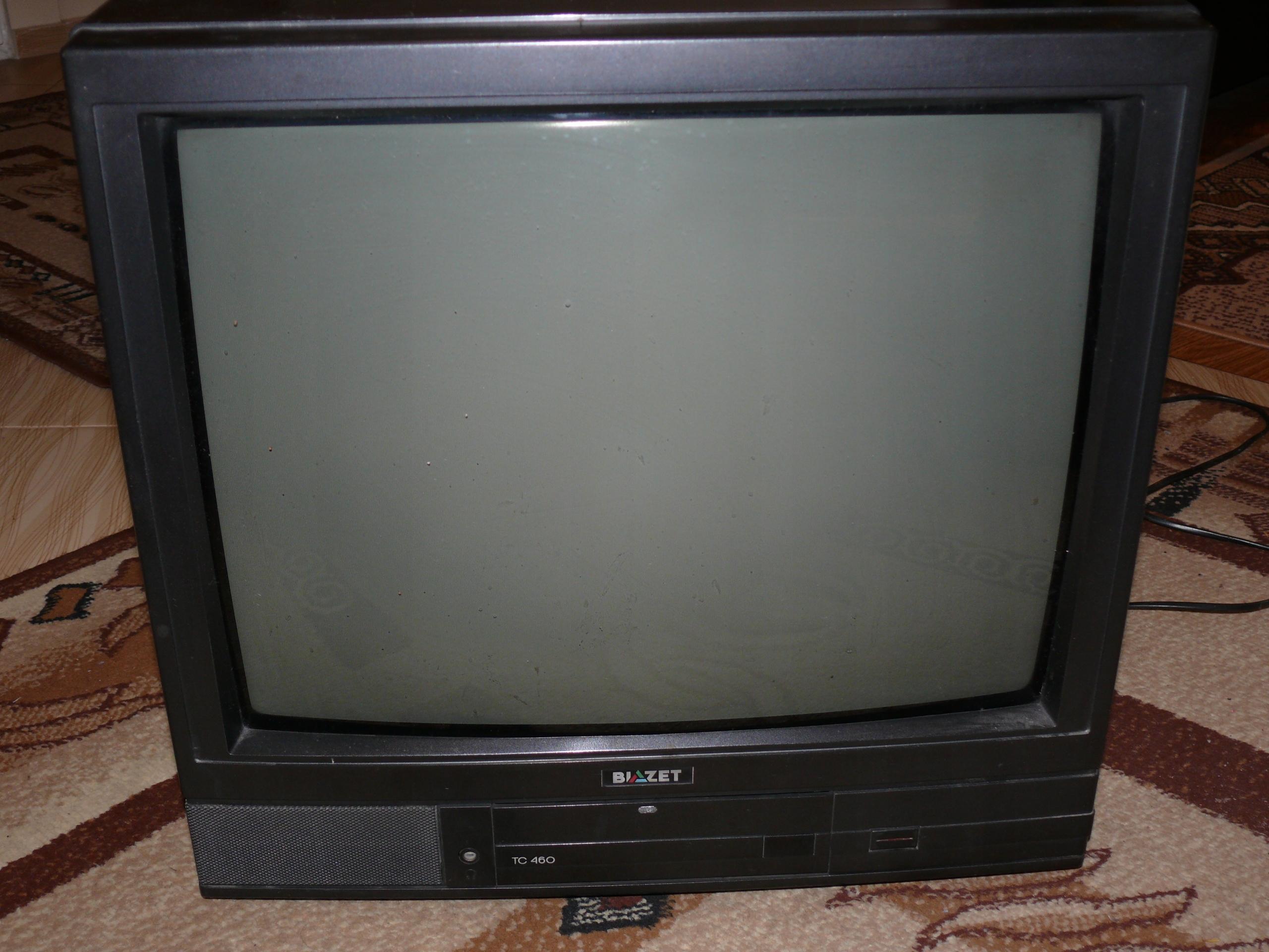 Telewizor kineskopowy BIAZET,21cali,pilot-SPRAWNY