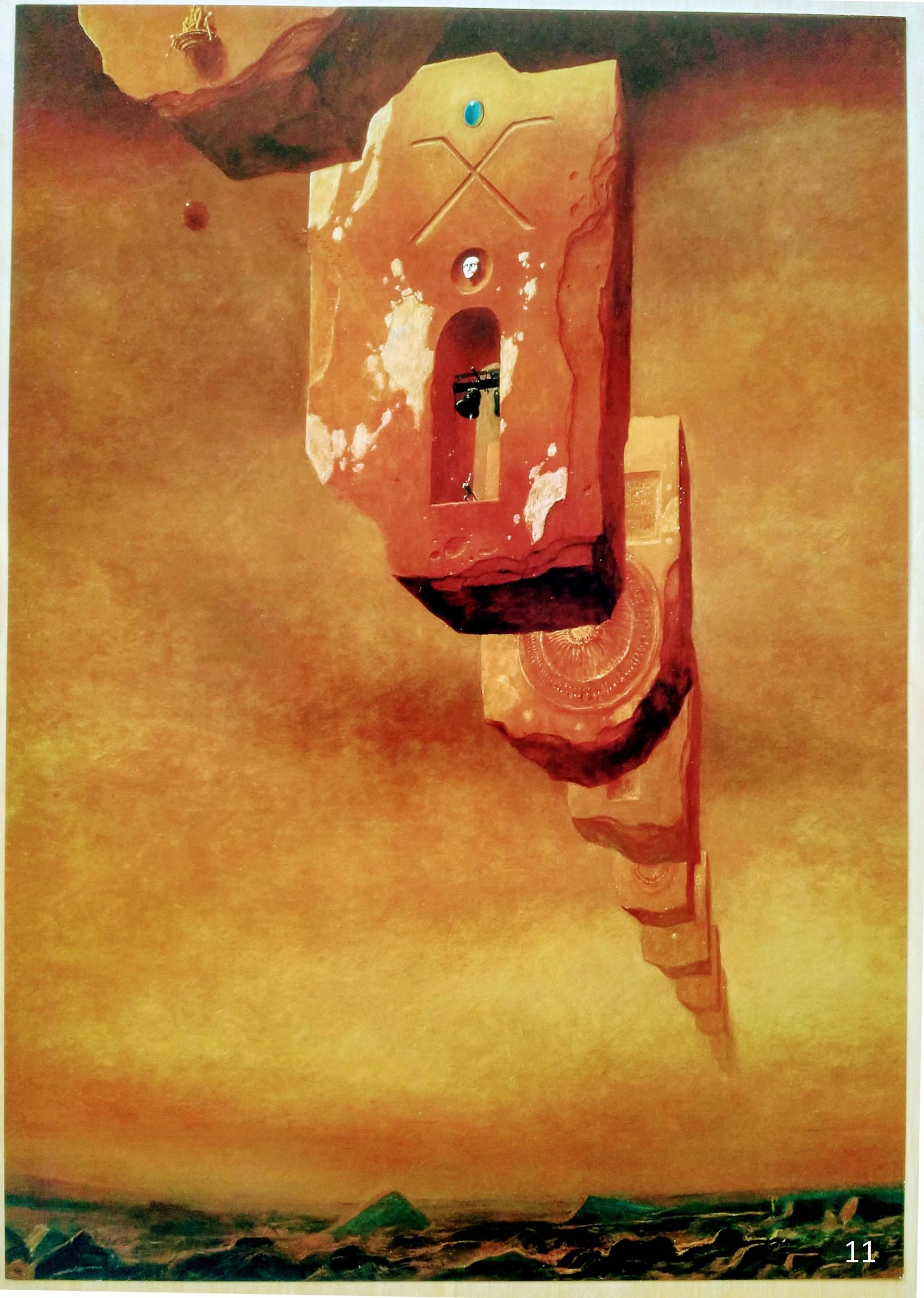 Beksiński Plakat 6 Wzorów Wysyłka Gratis