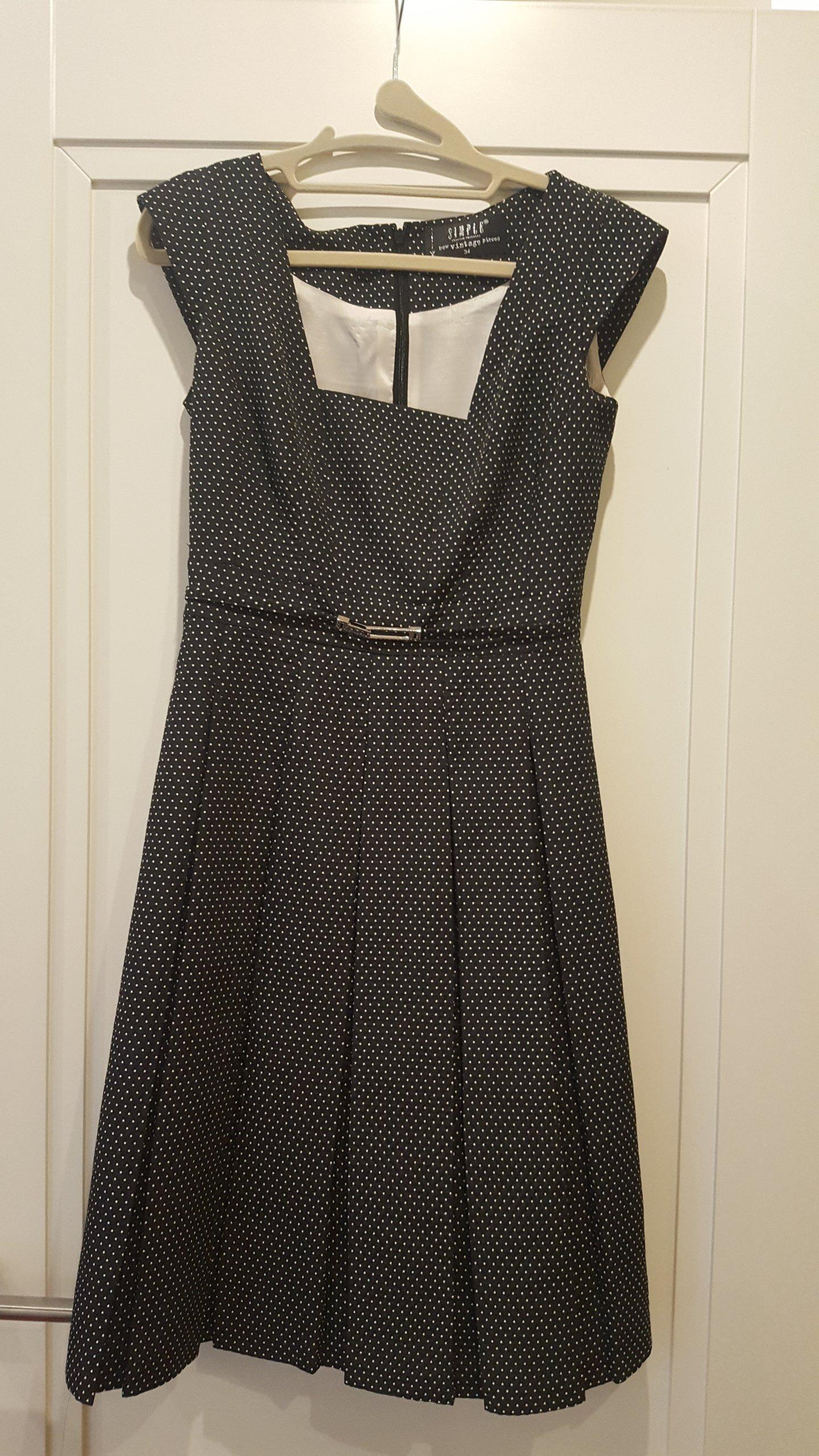 d55c76fb05 Sukienka SIMPLE rozmiar 34 stan idealny - 7250118357 - oficjalne ...