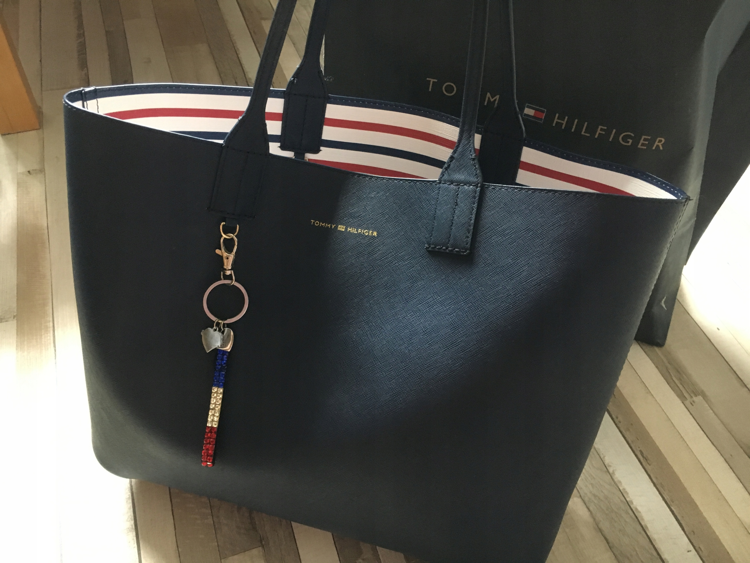9c69518cd6c11 Tommy Hilfiger torebka torba shopper bag logo cudo - 7476713923 ...