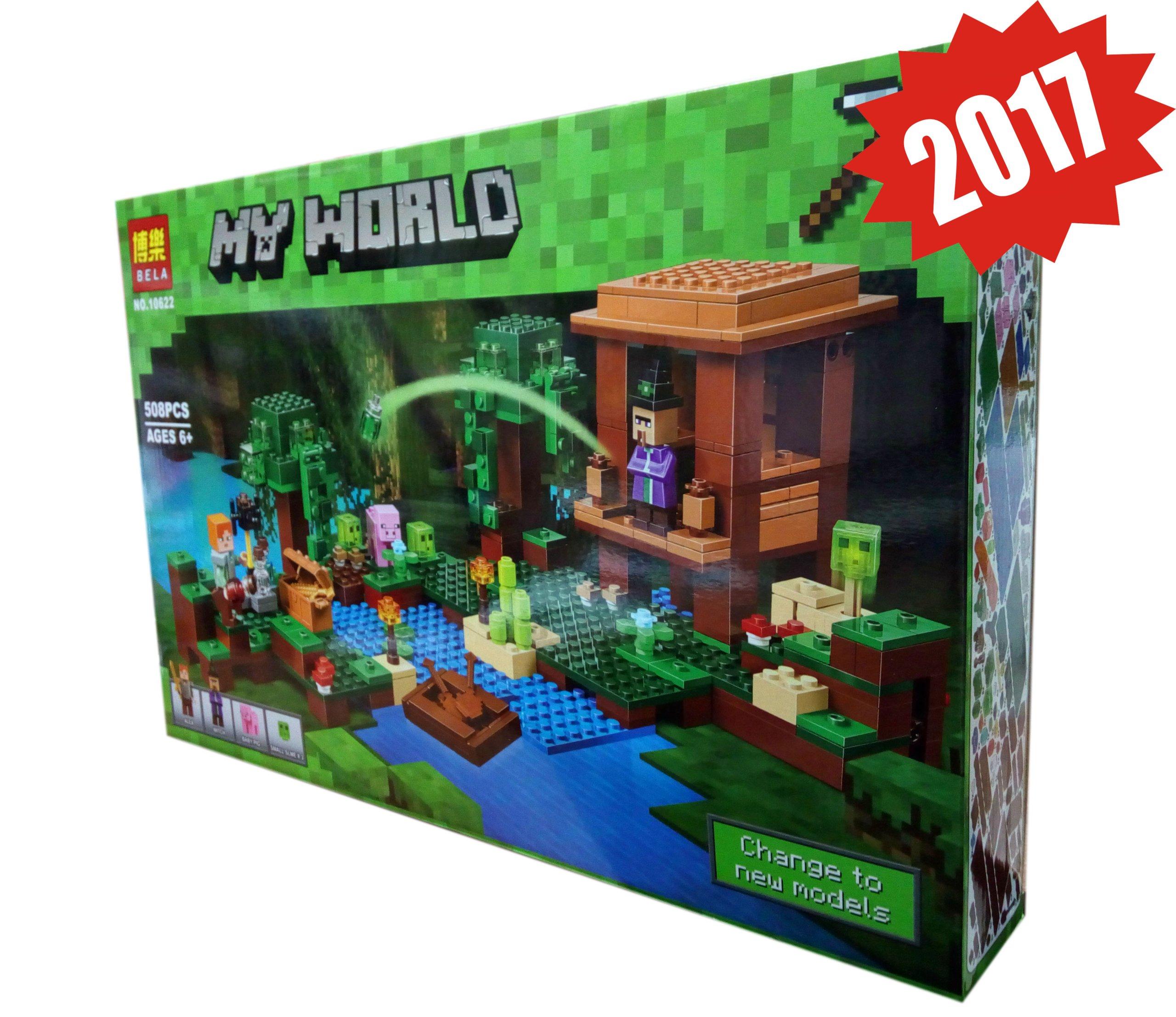 Minecraft Klocki Bela Nowe 508 Ele Karta Lego 7081337563