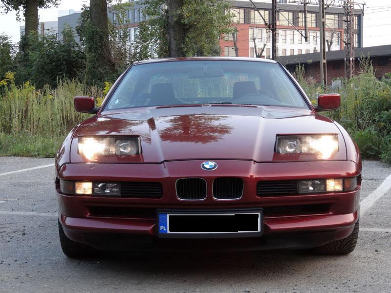 BMW 850 i V 12 Zamiana na KAMPERA HYMER B 644