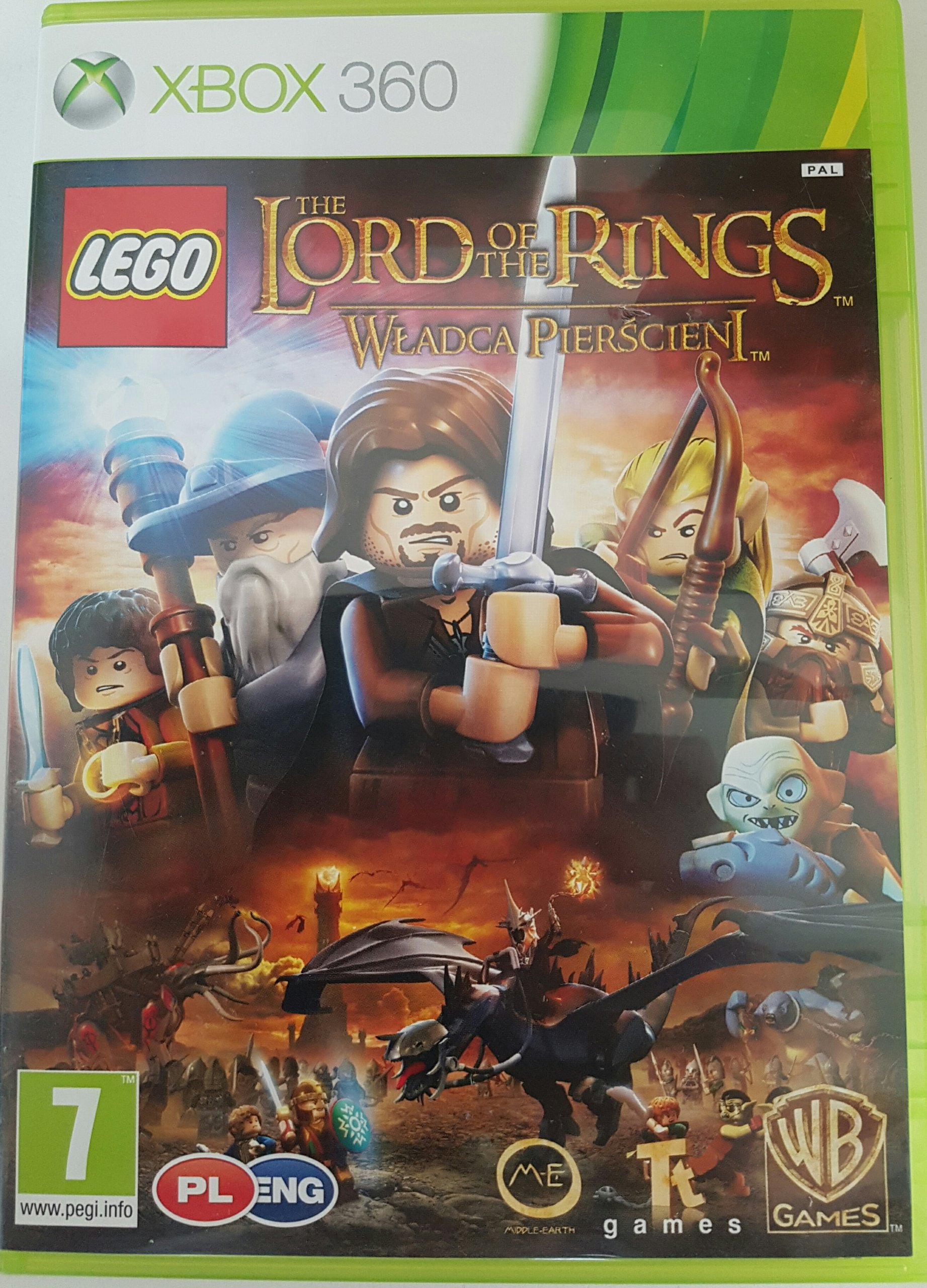 Lego Władca Pierścieni Napisy Pl Xbox 360 7422669944 Oficjalne