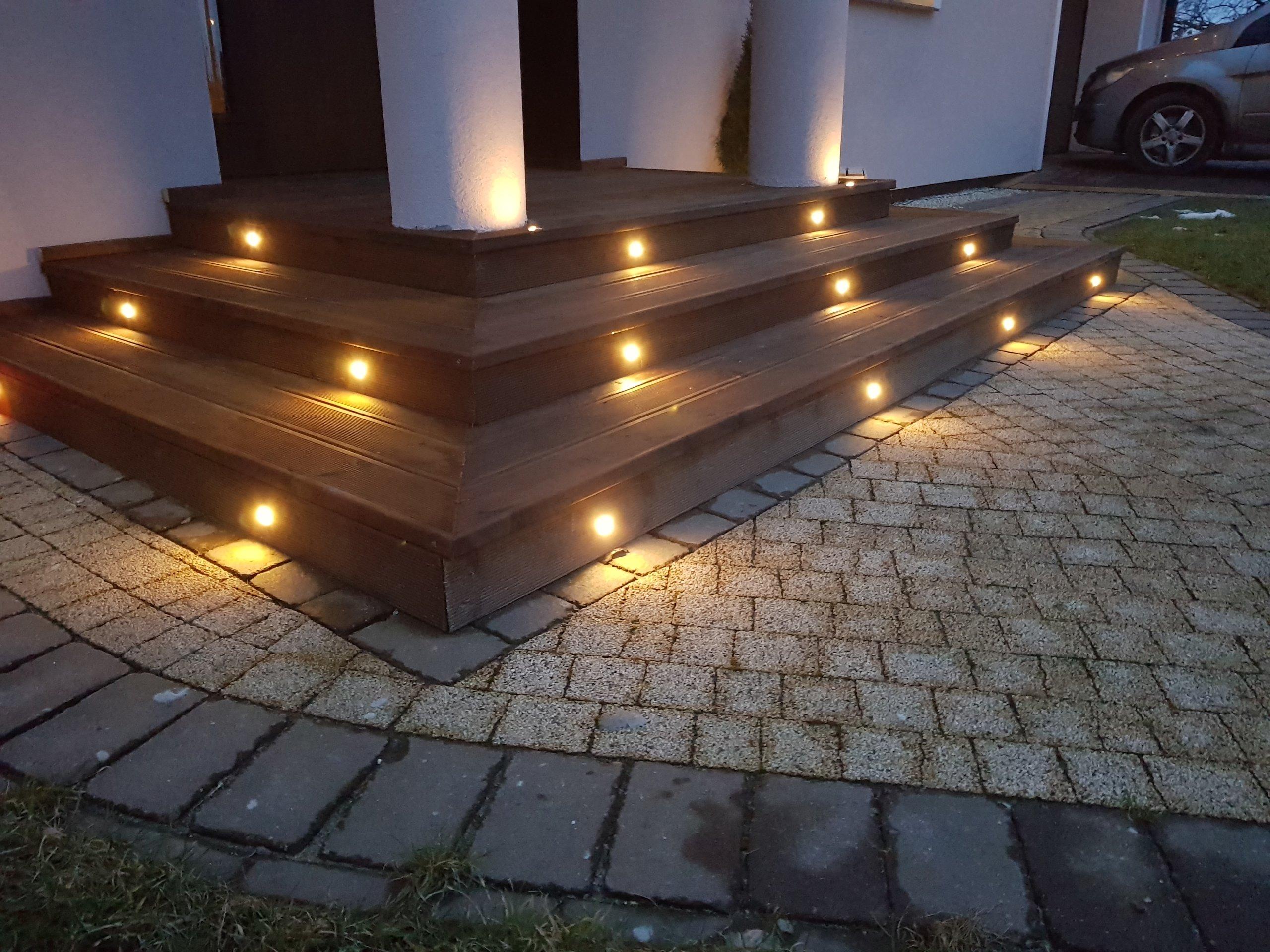 Oswietlenie Led Podbitka Taras Schody 7190785634