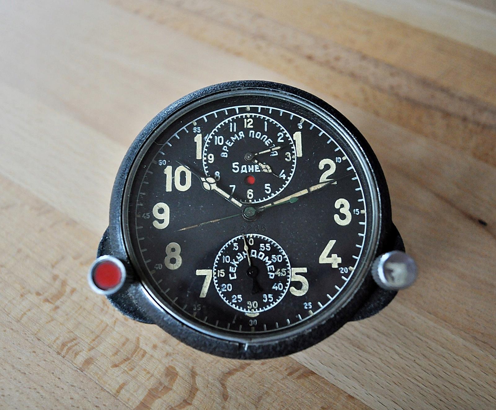 Chronograf lotniczy ACZ-as 1 z MIG-a 29
