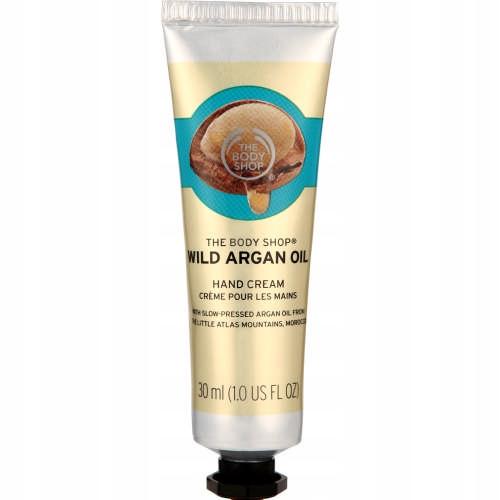 The Body Shop Wild Argan Oil Hand Cream 30ml UK
